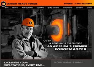 Web Design for Steel manufacturer
