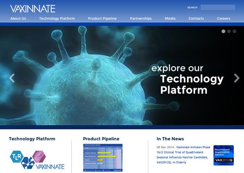 Web Design for Vaxinnate