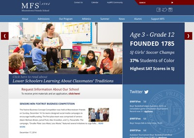 Responsive Website – Education