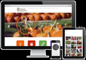 Orchard Friends Web Design