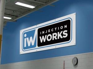 Manufacturing Logo Sign