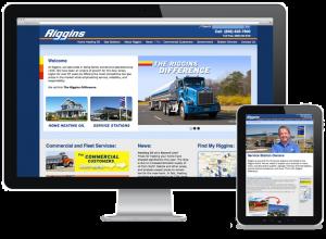Riggins Oil Web Design