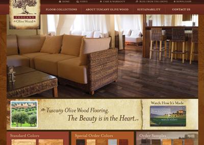Web Design Flooring Company