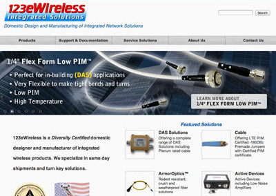e-Commerce website for Telecom