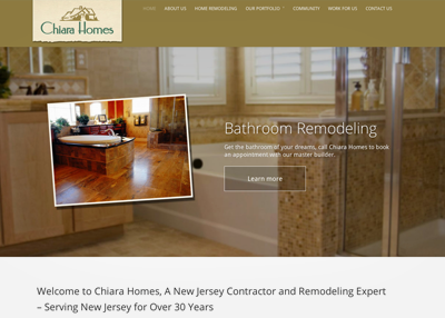 Website for Construction Contractor