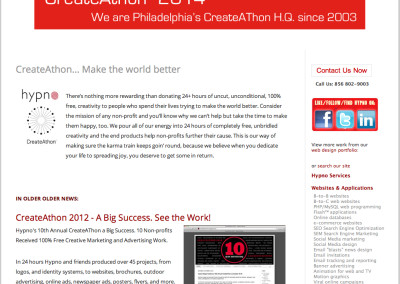 hypno website design in 2013-d