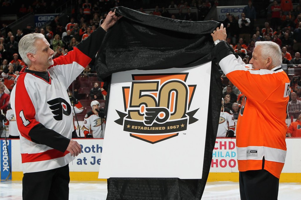 Phila-Flyers-unveil-50th-anniversary-logo