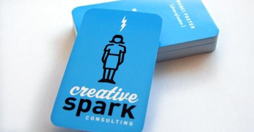 Creative Spark business cards