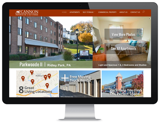real estate website design philadlephia