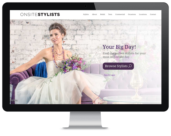 onsite-stylists beauty industry website