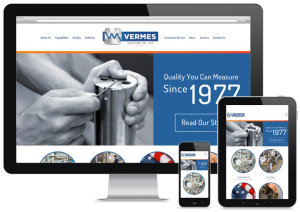 web design for industrial company