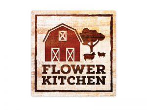 Retail Food Brand logo design