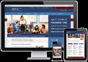 MFS website design and programming