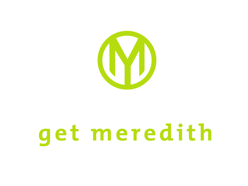 logo design and branding – get meredith
