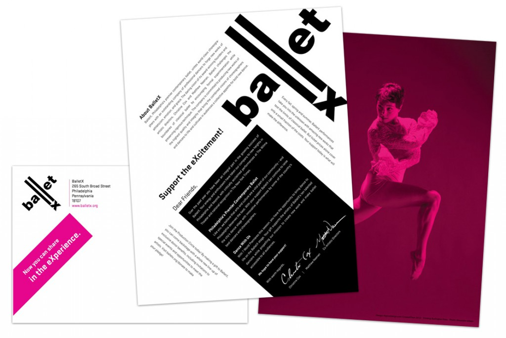 Ballet X Annual Appeal Letter