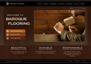 Flooring Company Website