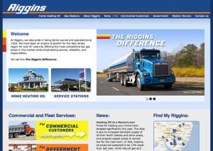 Energy Company Web Design