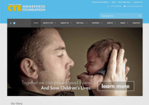 non-profit website design for health