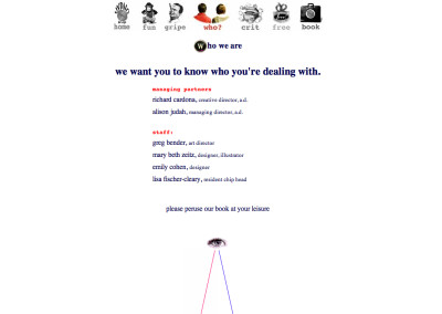 hypno website design in 1994-c