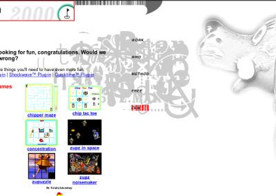 hypno website design in 2000-d