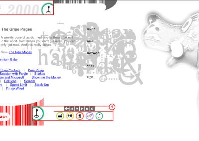 hypno website design in 2000-e