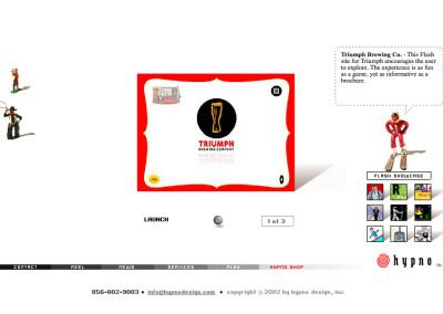 hypno website design in 2003-b