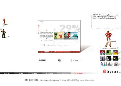 hypno website design in 2003-c