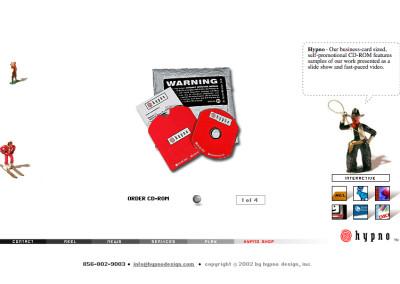 hypno website design in 2003-d