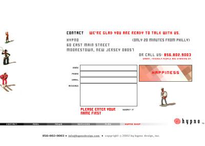 hypno website design in 2003-f