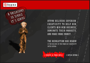 hypno website design in 2004-a