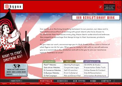 hypno website design in 2004-d