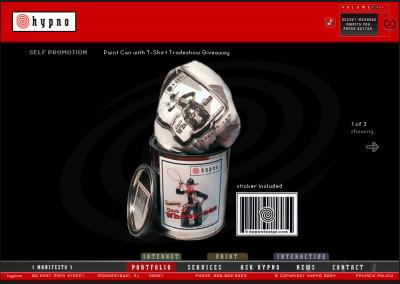 hypno website design in 2004-e