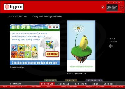 hypno website design in 2004-f