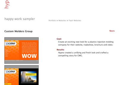 hypno website design in 2007-b
