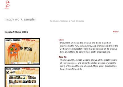 hypno website design in 2007-c
