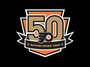 Philadelphia-Flyers-50th-anniversary-logo