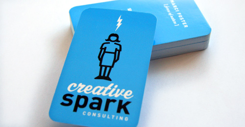 Creative Spark business cards