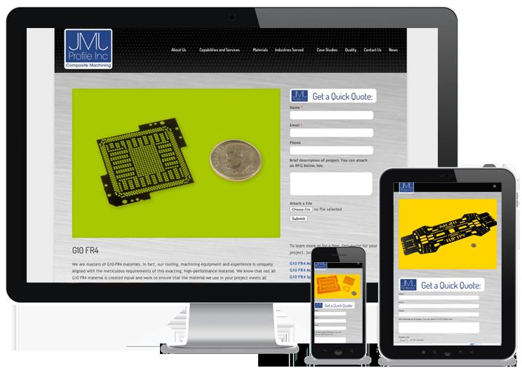industrial b-to-b website