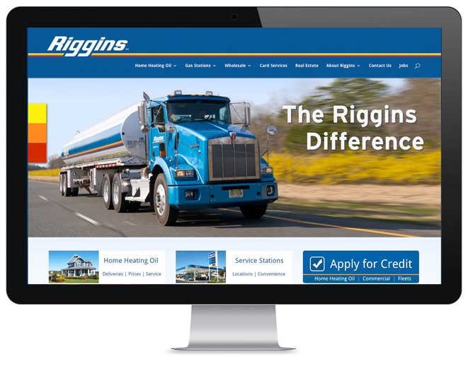 Riggins Oil Energy Company web design