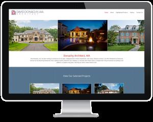 Website design for SJ Architect