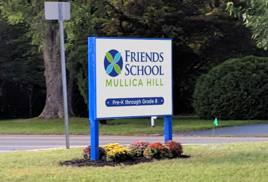 education logo on sign