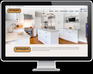Website design for SJ Contractor